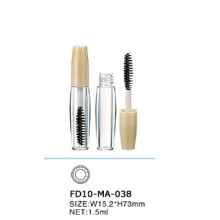1.5ml Tiny Clear Empty Plastic Mascara Case