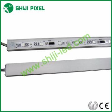 La tira llevada perfil de aluminio de 30LEDs / m LPD6803 llevó la tira de aluminio al aire libre ligera
