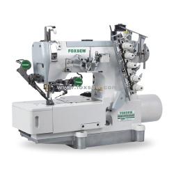 Bezprzewodowa maszyna do szycia z blokadą bezpośrednią z trymowaniem gwintu górnego i dolnego