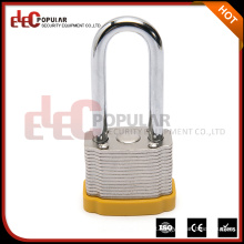 Elecpopular Design mais novo Bloqueio de segurança de grilhão longo com corpo de bloqueio de aço de 34mm
