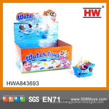 Hot Sale Interessante brinquedo de plástico pequeno navio