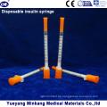 Wegwerf 1cc Insulinspritzen 0.5cc Insulinspritzen 0.3cc Insulinspritzen (ENK-YDS-045)