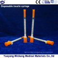 Disposable 1cc Insulin Syringes 0.5cc Insulin Syringes 0.3cc Insulin Syringes (ENK-YDS-046)
