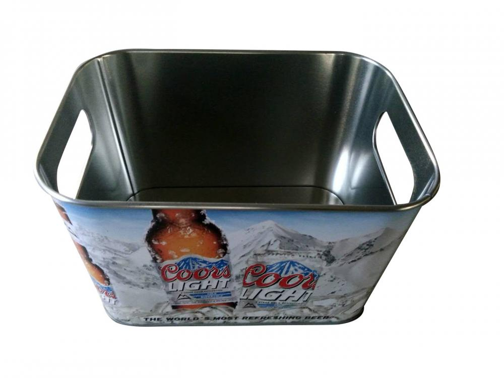 beer tin bucket