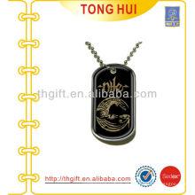 Poly Dome logo etiqueta de cão colar fornecedor imitação de jóias
