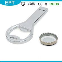 Abridor de garrafas de metal chave em forma de unidade flash USB (TD082)