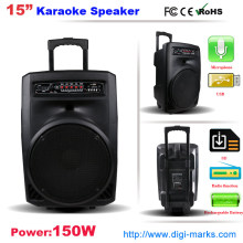 Professional Outdoor Audio Eqquipment Trolley Loudspeaker