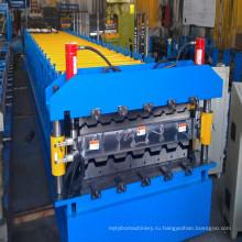 Двухслойная профилегибочная машина для производства металлических кровельных или стеновых панелей