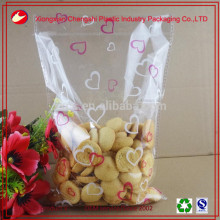 high quality clear plastic opp bags for cookies packaging