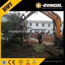 Excavadora Perforadora hidráulica de perforación de tierra para cavar el agujero