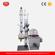 Lab Water Bath Vacuum Rotary Evaporator Distillation