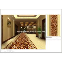 Impresso Nylon parede para parede Hotel Carpet