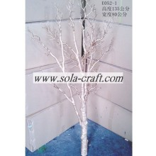 Potted Artificial Gold Wedding Tree With 135CM