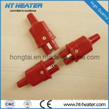 Red Silicone High Temperature Plug