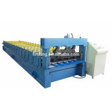 Hoja de la azotea de Hangzhou CNC para la construcción de materiales de construcción equipos pared hoja fabricante máquina