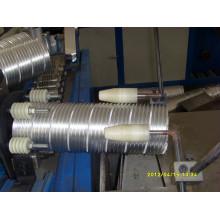 Máquina de conducto de papel de aluminio