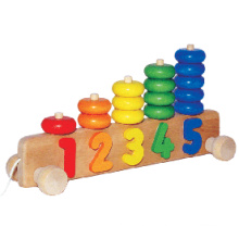 Wooden Educational Abacus Toy (80851)