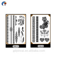 Latest Lace Design Temporary Body Sticker,silver styles tattoo for sex girl with low price