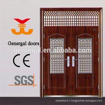 Safty Standard Exterior double steel door
