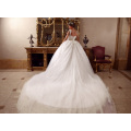 LL060 Luxury Beading 2017 Wedding Dresses Ball Gown Appliques Lace robe de mariage Tulle vestido de noiva princesa Bridal Gowns