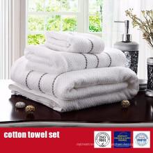 100% coton serviettes de luxe Dobby serviette