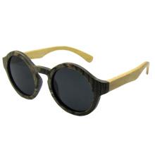 Vintage moda madeira óculos de sol (sz5689-2)