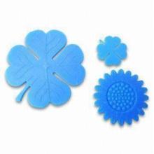 Soft PVC Silicone Coasters en forme de variété (Coaster-08)