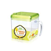 Botella de aceite de especias útil con asa
