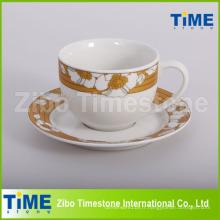 Service à café et thé classique en porcelaine