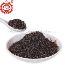 100% puro pó de gergelim preto