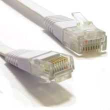 FLAT Ethernet CAT6 Netzwerkkabel Patch RJ45
