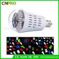 LED-rotierende Projektor-Birnen-Lampe mit Kürbis-Geist-Schädel-Muster 4W RGBW Licht