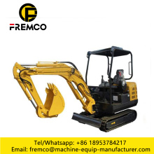 Small Bucket Rubber Track mini Excavators