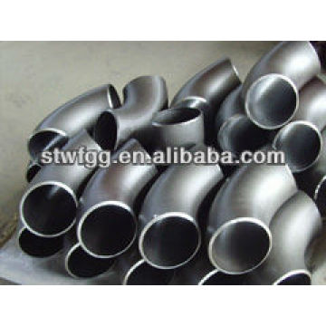 A234 WPB CARBON STEEL pipe fitting connector L.R ELBOW 90 D SCH40
