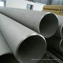 Tubería sin costura de acero inoxidable industrial ASTM A312