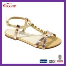 Mulheres Clinch Sandálias Moda Verão