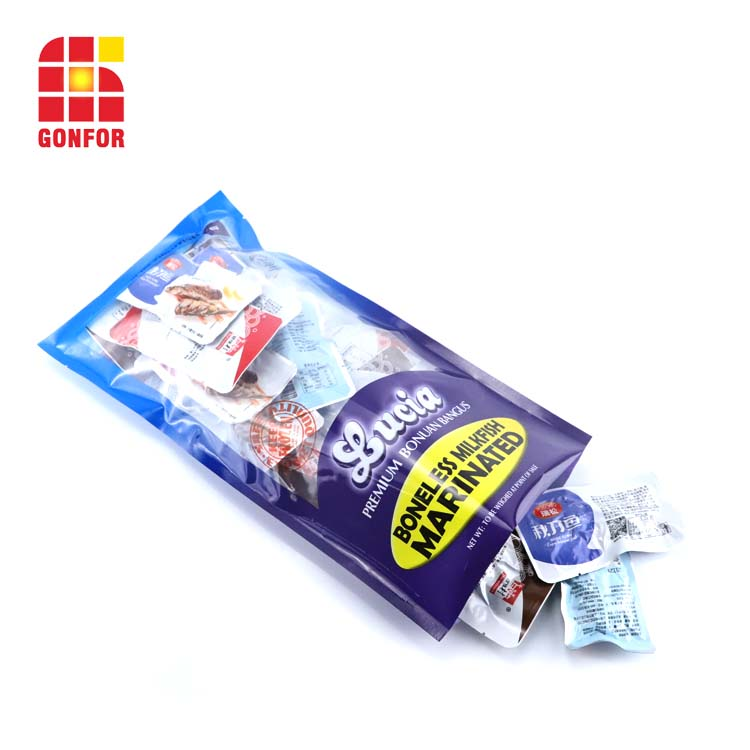 Vacuum Food Bag For Frozen Fish Packaging
