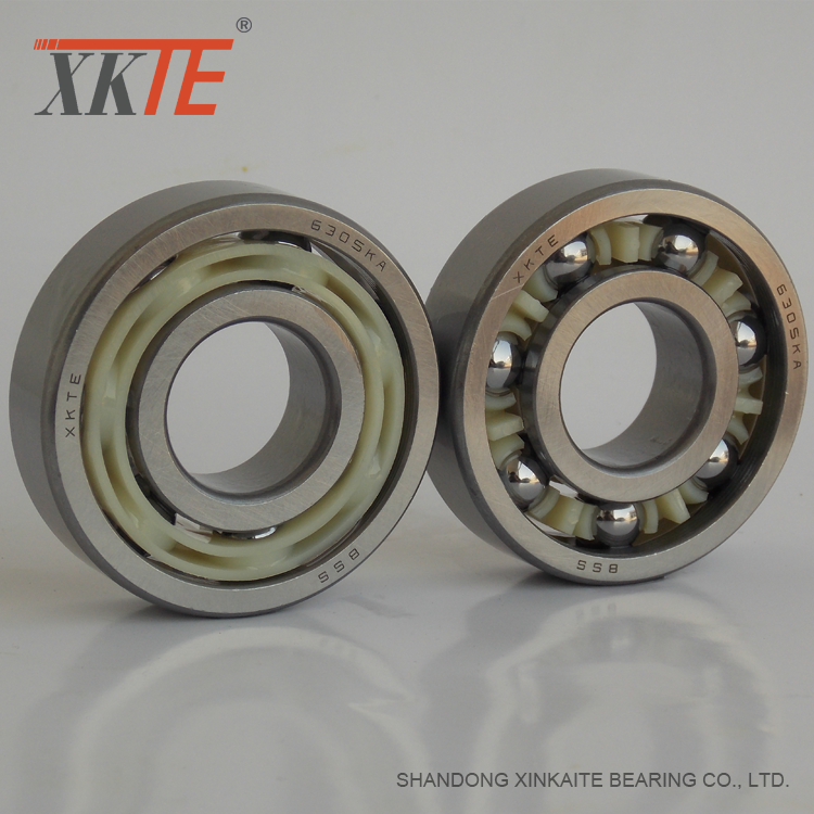 Nylon+Retainer+Conveyor+Roller+Bearing+6305+KA%2FTN9