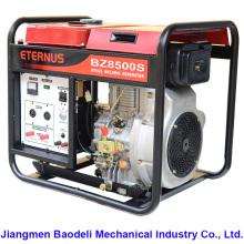 Generador diesel refrigerado por agua del uso casero (BZ10000S)