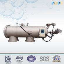Filtro automático de purificación de agua de 80 micrones para agua de mar