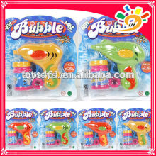 Friction bubble gun ,plastic bubble gun toys