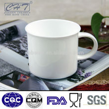 White porcelain beer mugs wholesale