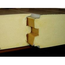 Almacenamiento en cuartos fríos Utilice el panel sándwich de PU