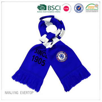 Chelsea 100% Acrylic Winter Football Fan Scarf