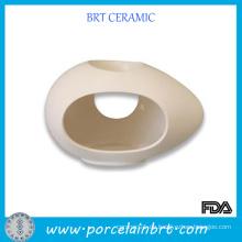 Big Holes Ei geformt Keramik Öl Brenner