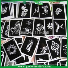 getbetterlife 2015 caliente venta de artículos confeccionados tatuaje plantilla/tatuaje plantilla/stencil tatuaje