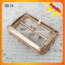 SB14 Classical style pin shoe buckle metal pin buckle metal blet buckle parts