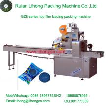 Gzb-350A de alta velocidad de la almohadilla de tipo automático de limpieza de esponja máquina de embalaje de flujo