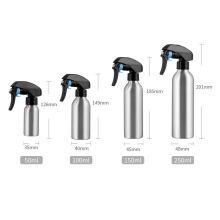 1PC 50/100/150/250ml Metal Refillable Bottles Sprayer Aluminum Spray Bottle Hairdressing Water Sprayer Hair Styling Tool