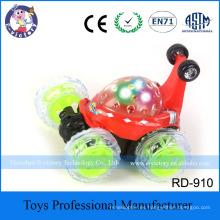 Mini RC Remote Control Toys Stunt Car Truck Radio Electric Dancing Dump Car Drift Model Rolling Rotating Wheel Vehicle Motor Toy